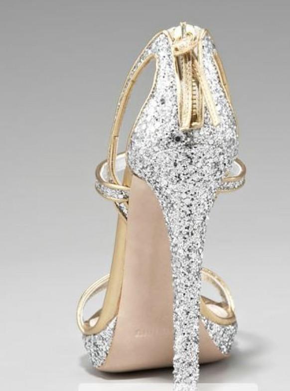 Свадебная обувь на высоком каблуке