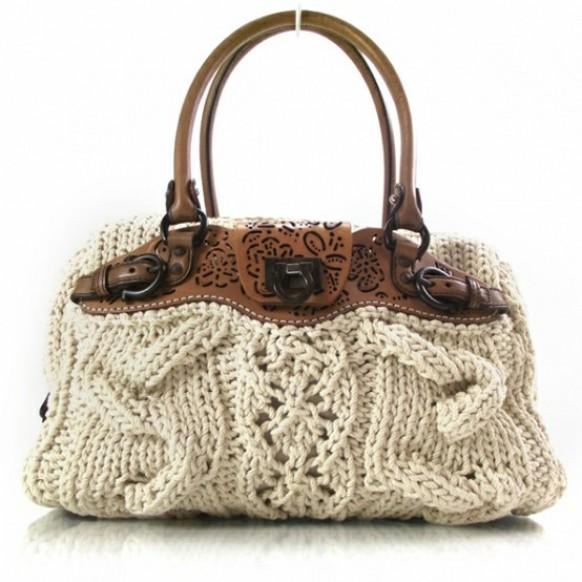 Комментарий: Вязанные сумки (фото моделей) Как сделать самой... . Поделилась: Бронислава