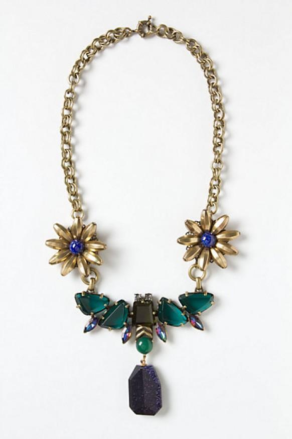 Special design handmade swarovski crystal necklace for Jardin necklace