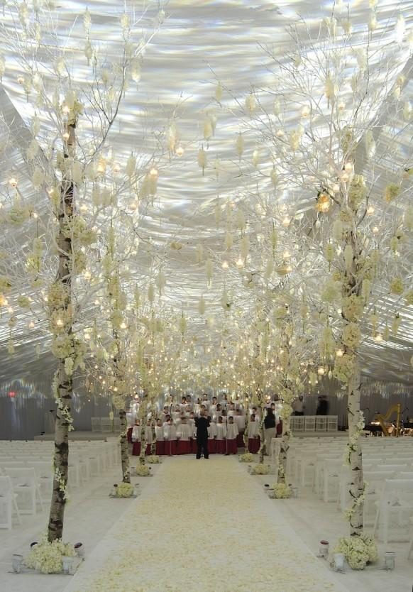 Dream wedding aisle decor ideas wedding decorations for Aisle wedding decoration ideas