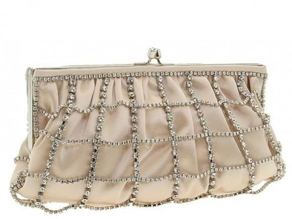 Wedding Bridal Clutchs U2665 Ivory/Champagne Franchi Handbags Clutch With Rhinestone #1526714 - Weddbook