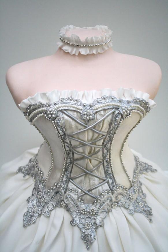 Special Ballet Dress Cake Design Unique Tea Party