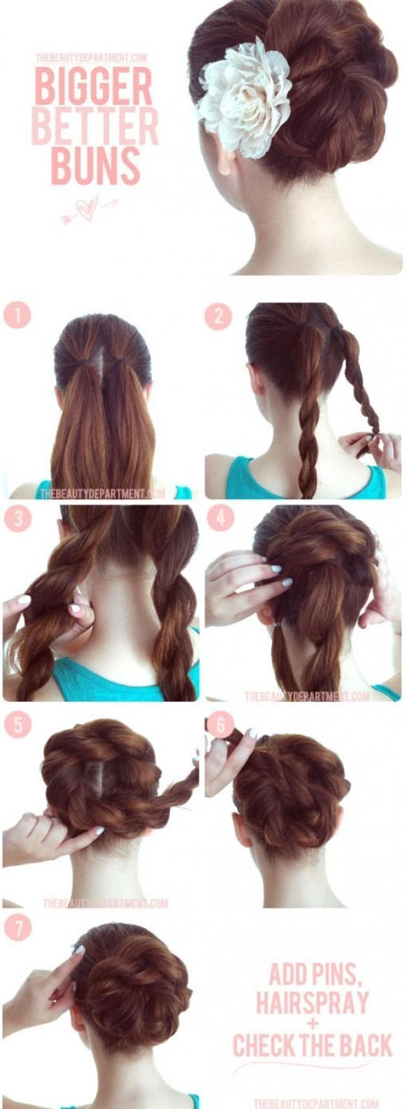 Прически из длиных волос на каждый день