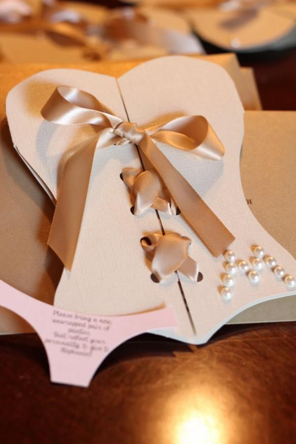 Unique Bridal Shower Gifts Diy : ... ? Unique And Creative Bridal Shower Invitation #1910219 - Weddbook