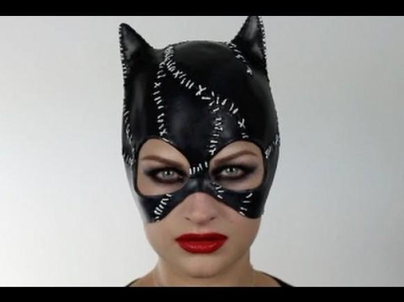 Образ женщины кошки на хэллоуин своими руками