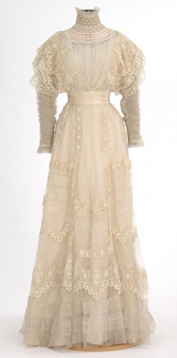 Платье 1900-х годов
