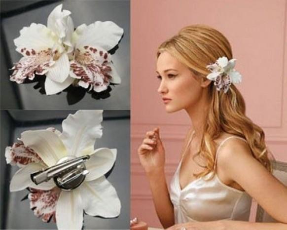 свадебные прически орхидея