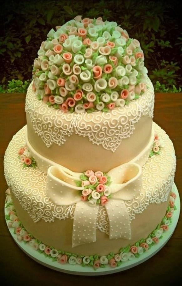 Wedding Cakes - Yummy Art (cake And Pastry) #1955876 ...
