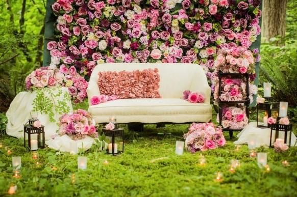 Backdrops wedding inspirations 1975075 weddbook - Decoracion para bodas vintage ...