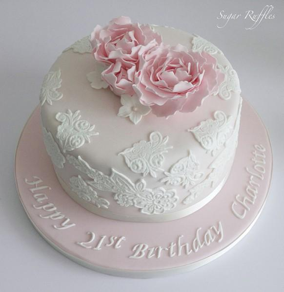 21st Birthday Cake Design For Her : Wedding Cakes - 21St Birthday Cake #1987628 - Weddbook