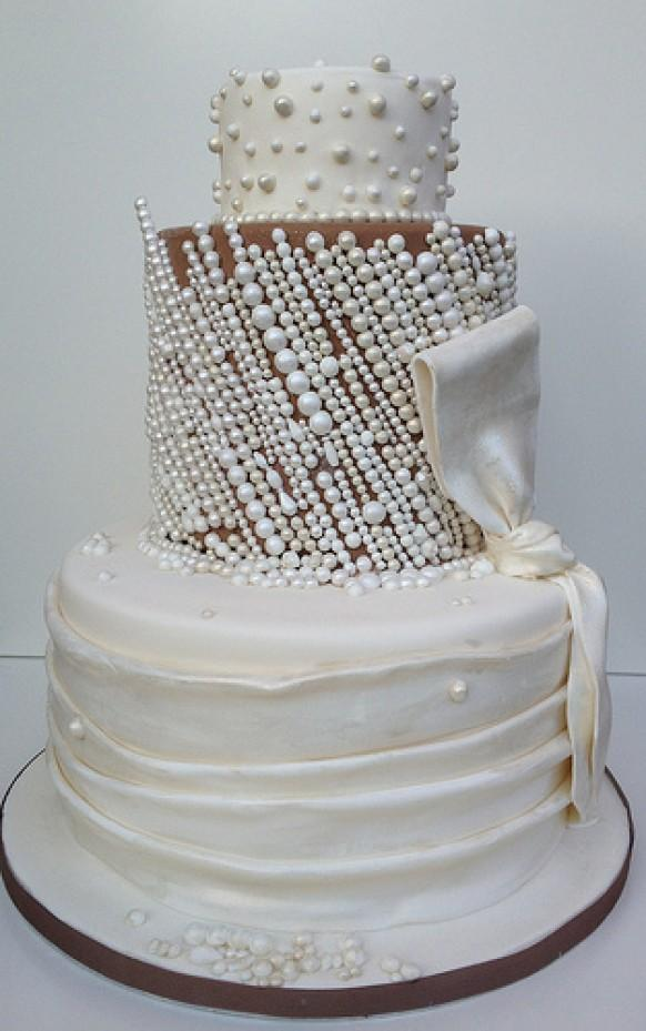 wedding cake inspired by priscilla of boston wedding dress 1987934