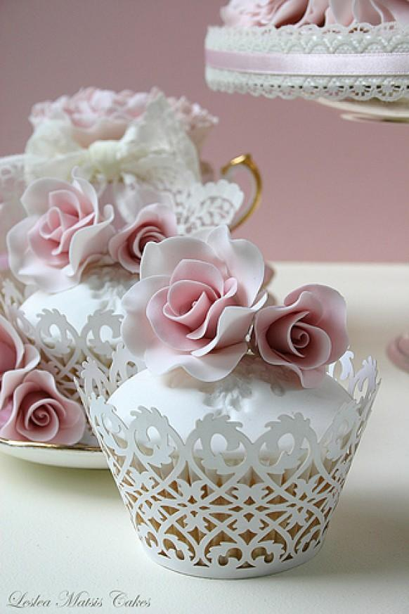 Gâteaux De Mariage - Rose Gâteau #1988045 - Weddbook