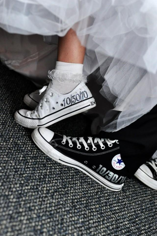 Shoe - MADE TO ORDER - Wedding Converse #2034870 - Weddbook