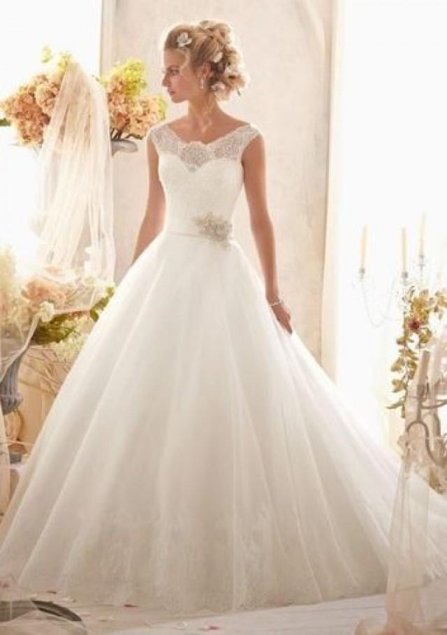new white ivory wedding dress bridal gowns custom size 2 4 With wedding dresses size 12 14