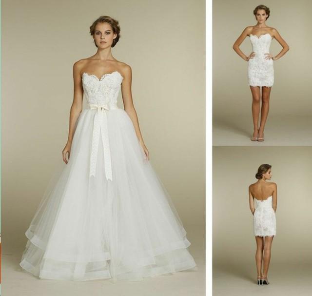 White Wedding Dress To Make You Look Stunning #2043181 - Weddbook