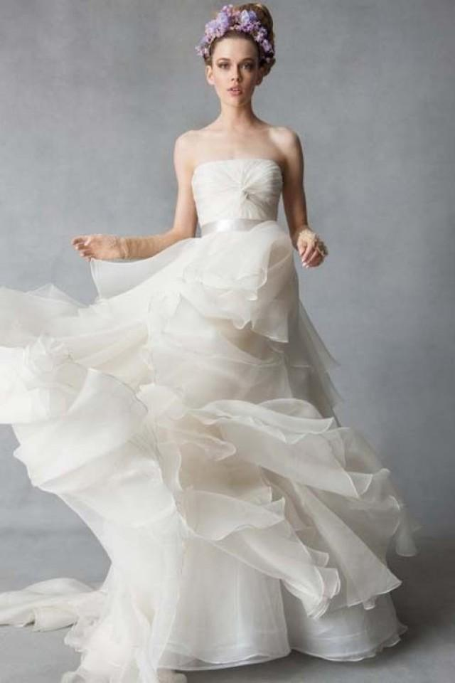 2014 new white ivory wedding dress bridal gown size4 6 8 for White or ivory wedding dress
