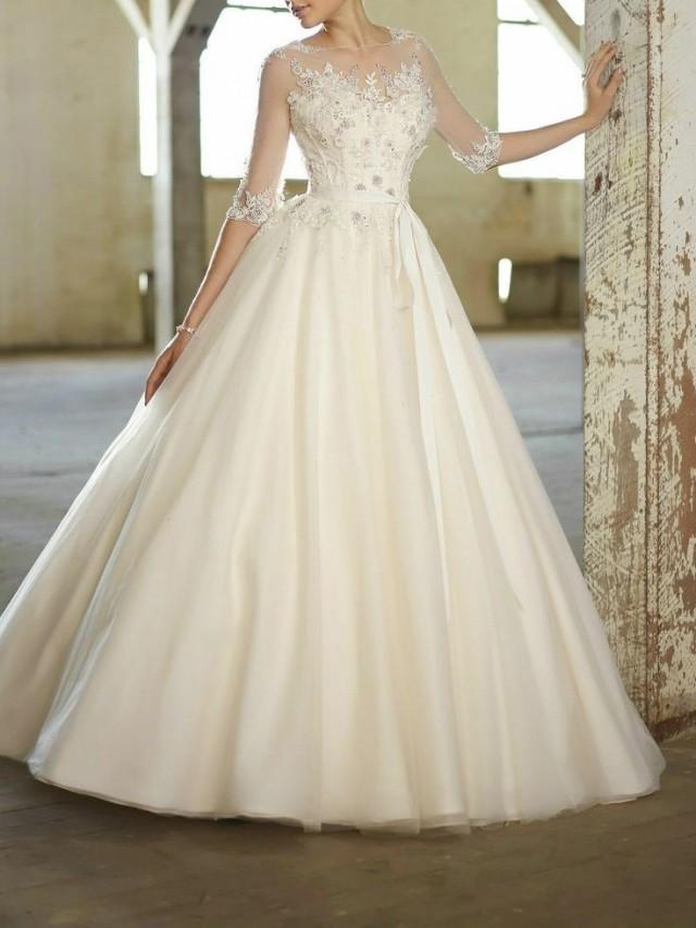 New white ivory wedding dress custom size 2 4 6 8 10 12 14 for White or ivory wedding dress