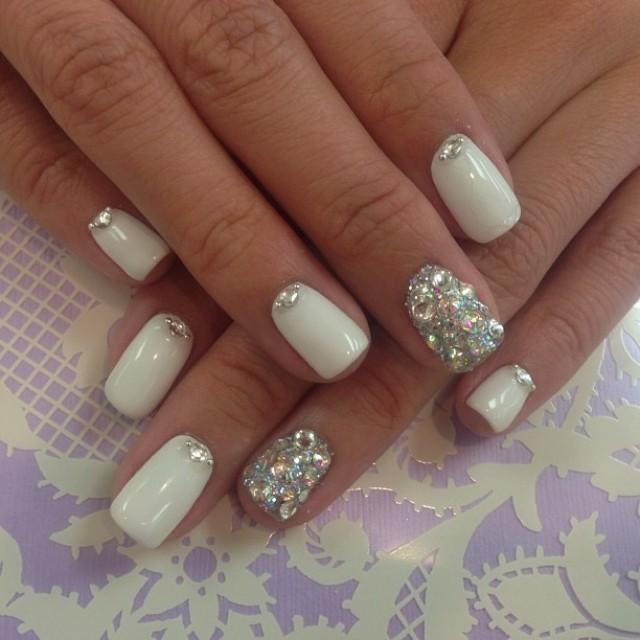 Nails For Wedding: Bridal Nail #2057083