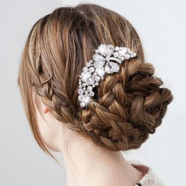Wedding Hairstyles Drawing: Beautiful Wedding Bridal Braided Hairstyle #2063383