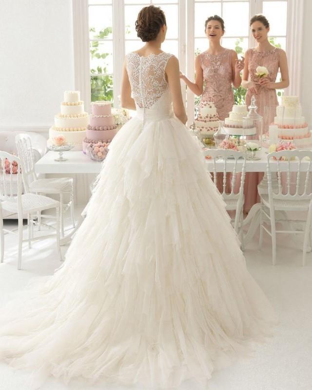 Wedding Dresses Size 6 : White ivory lace wedding dress bridal gown custom size
