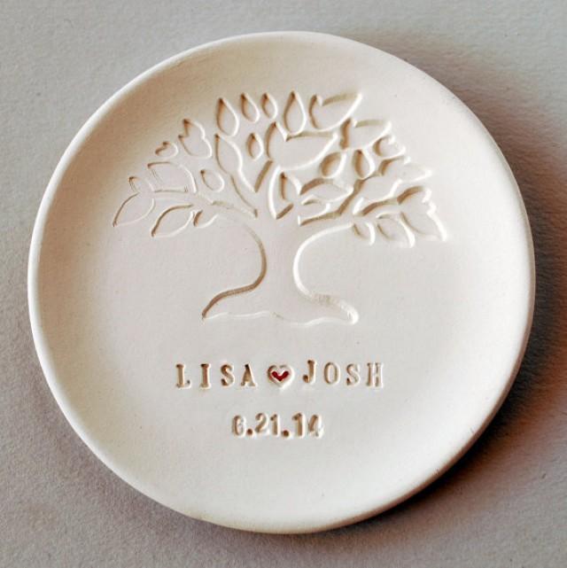 Wedding Favor Wedding Gift Ring Dish Personalized Bridesmaids