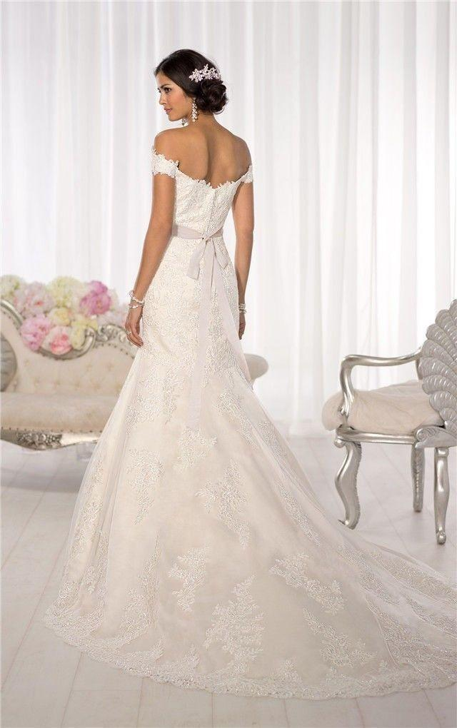 Wedding Dresses Size 6 : New white ivory lace bridal gown wedding dress custom size