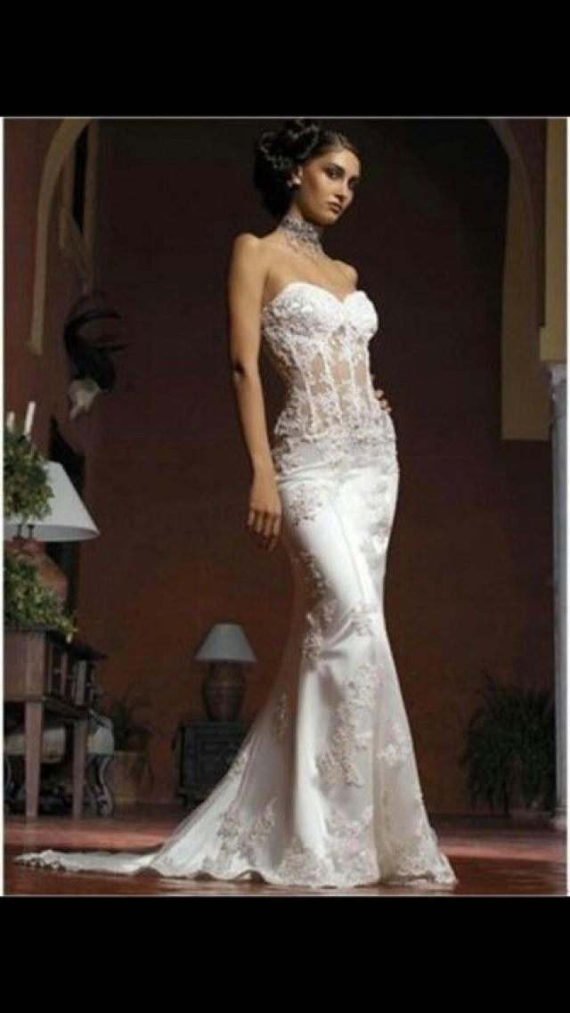 Lingerie wedding dresses 2307567 weddbook for Lingerie for wedding dress