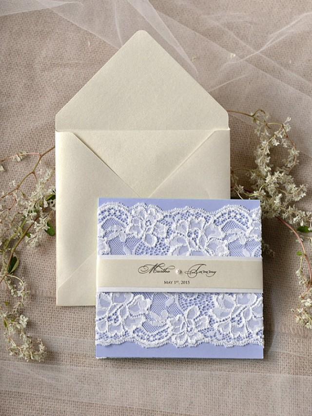 Lilac Weding Invitations 035 - Lilac Weding Invitations
