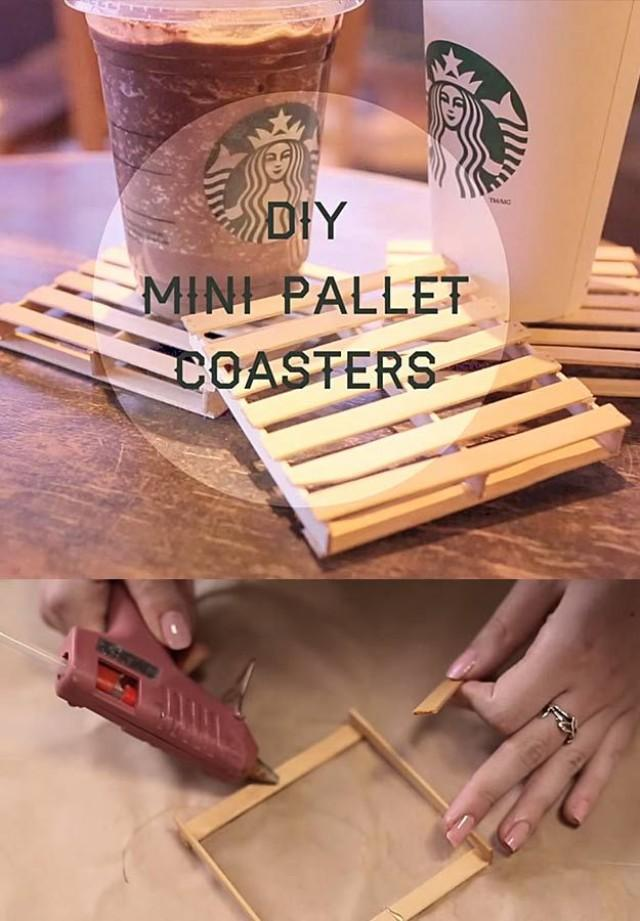 Unbelievably cool things you can make with a glue gun for Cool easy things to build out of wood