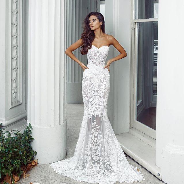 Kleinfeld Convertible-Bodice Long Bridesmaid Dress   Kleinfeld Bridal Wedding Dresses
