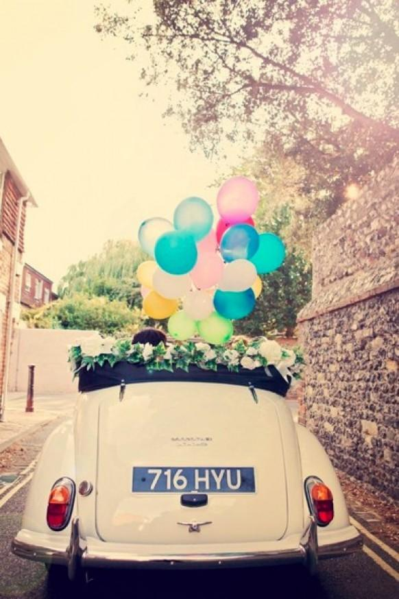 Wedding Car Decoration Ideas Funny : Car wedding  weddbook