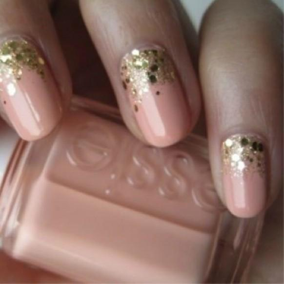 Modern wedding nails pictures