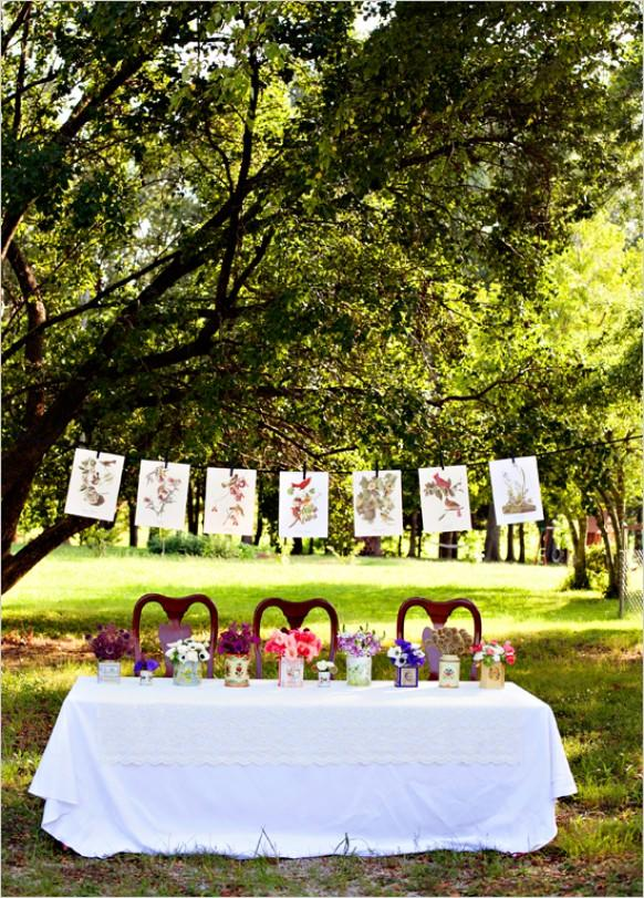 Outdoor wedding outdoor wedding ideas 792885 weddbook for Table jardin beauty