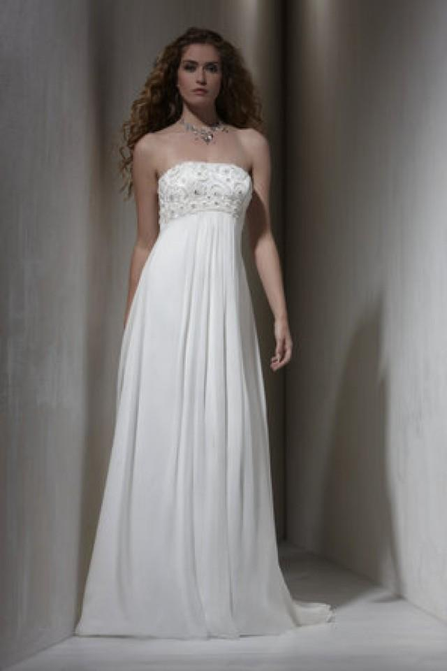Dress sarah danielle destinations 795216 weddbook for Trisha yearwood wedding dress