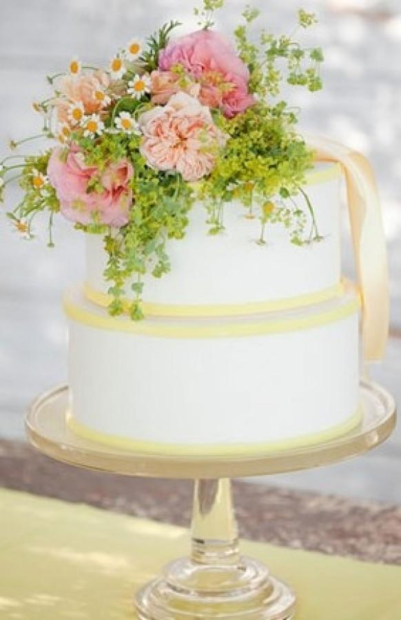 Wedding Cakes With Flowers 796743 Weddbook