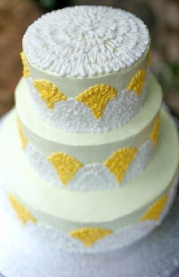 Buttercream Wedding Cakes #796813 - Weddbook