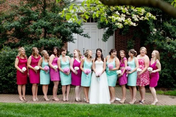 tiffany blue wedding aqua bridesmaids gowns 796972. Black Bedroom Furniture Sets. Home Design Ideas