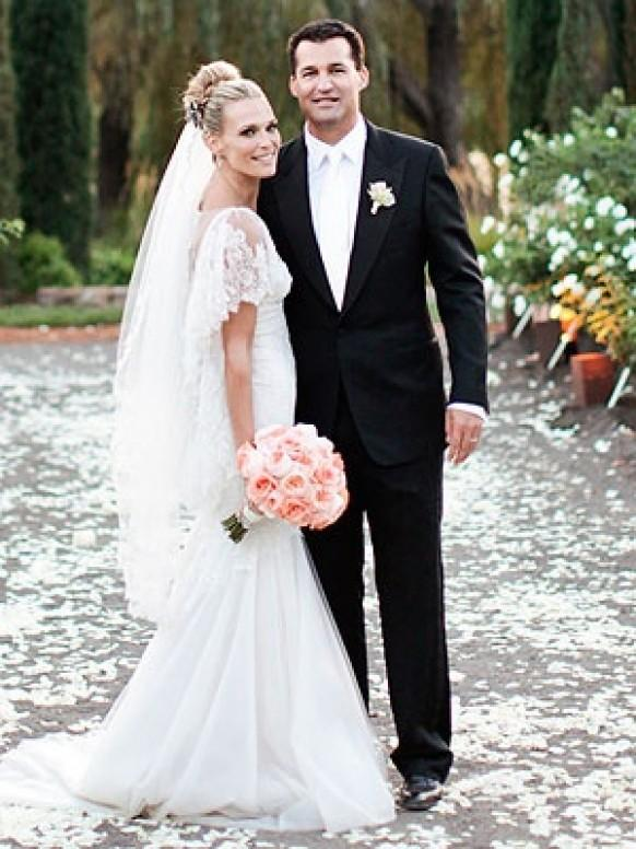 Celebrity wedding celebrity weddings 798424 weddbook for Jill goodacre wedding dress