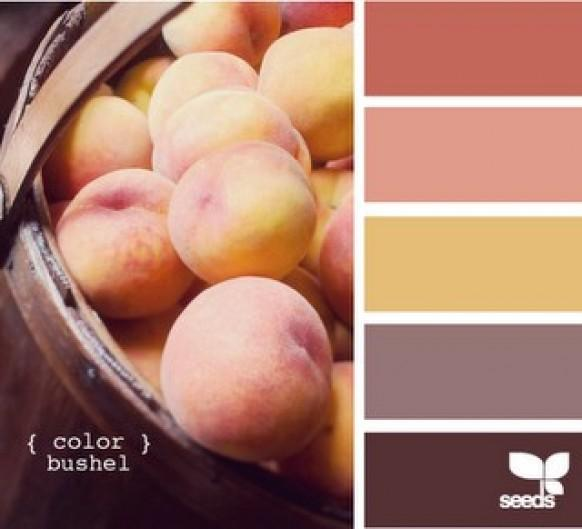Peach wedding peach wedding color palettes 798588 - Peach color paint palette ...
