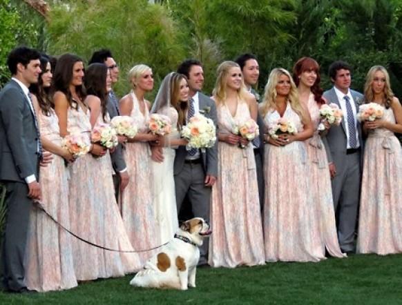 Ashlee Simpson Wedding Flowers Celebrity Wedding - Ce...