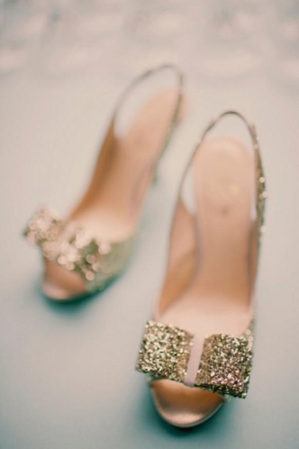Gold wedding wedding shoes 805421 weddbook for Gold dress shoes for wedding