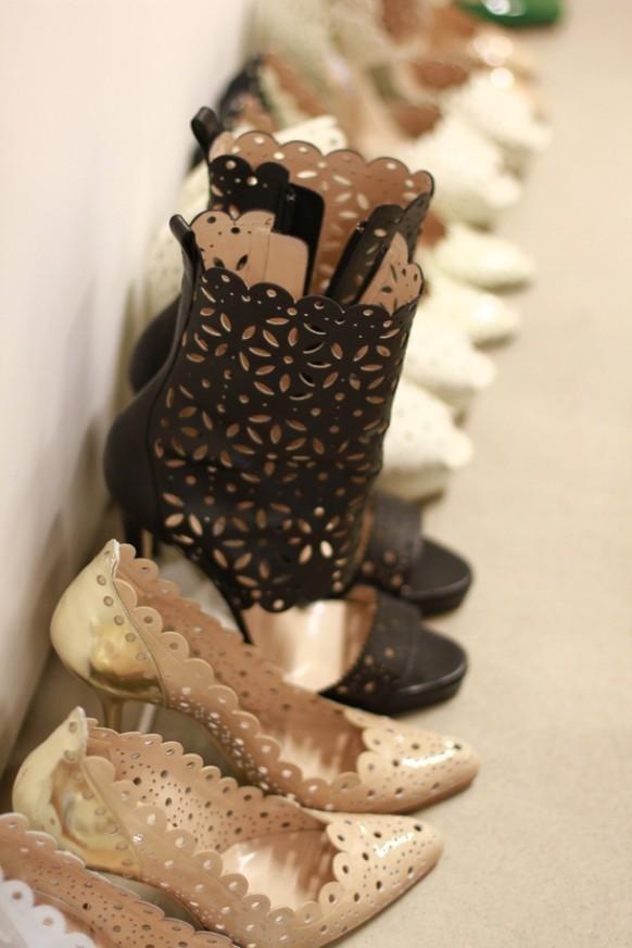 wedding photo - أحذية