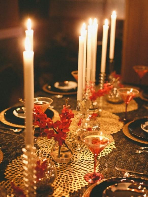Winter table decoration ideas