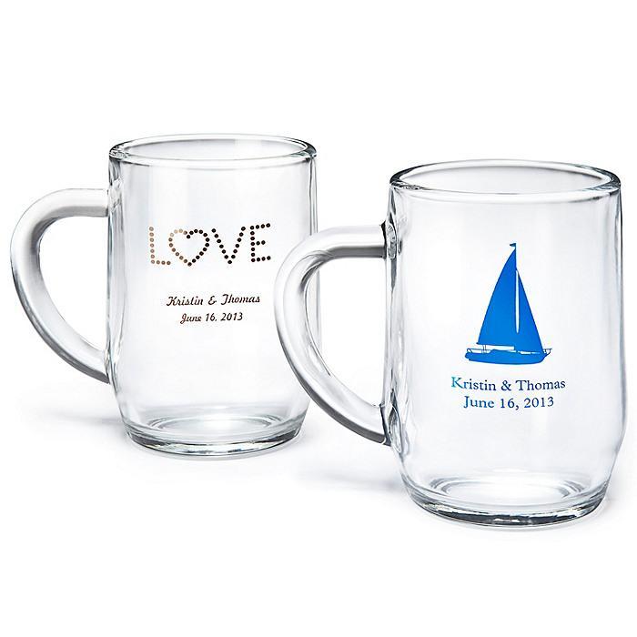 Hochzeit - Personalisierte Glass Mug