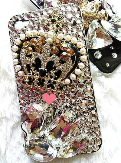 Свадьба - Luxry корпуса телефона ♥ Удивительные iPhone Кристалл и Pearl дело
