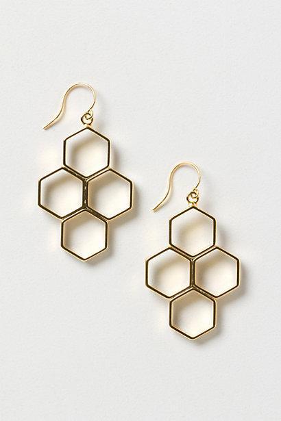 Wedding - Honeycomb Hive Drops - B