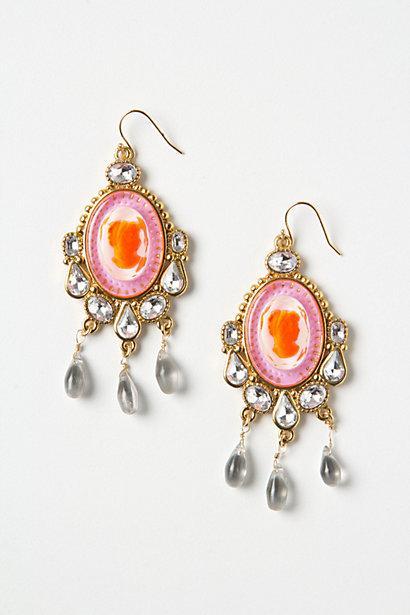 Wedding - Swarovski Crystal Tear Drop Earrings