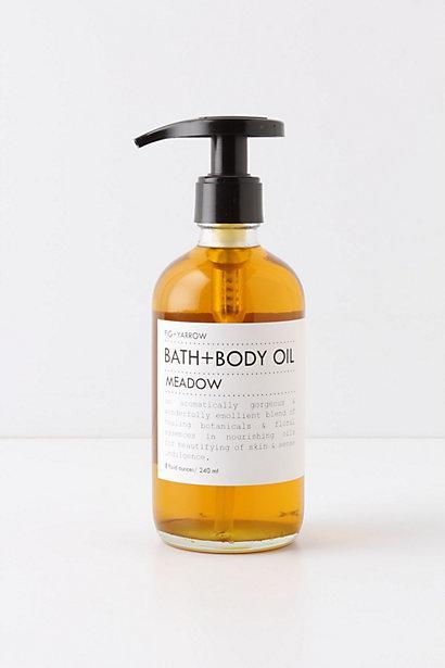 Wedding - Fig + Yarrow Meadow Bath + Body Oil - B