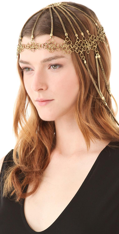 Bohemian Wedding - Chain Bridal Headpiece #1331960 - Weddbook