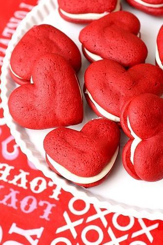 Свадьба - Рождество & Valentie День Food & Десерт Идеи ♥ Красным Бархатом, зачем Пироги Свадебной